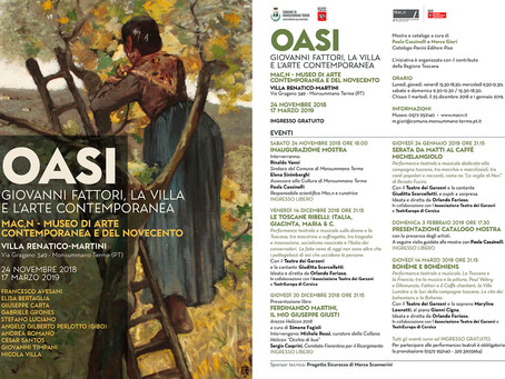 Oasi - Giovanni Fattori, la villa e l'arte contemporanea.