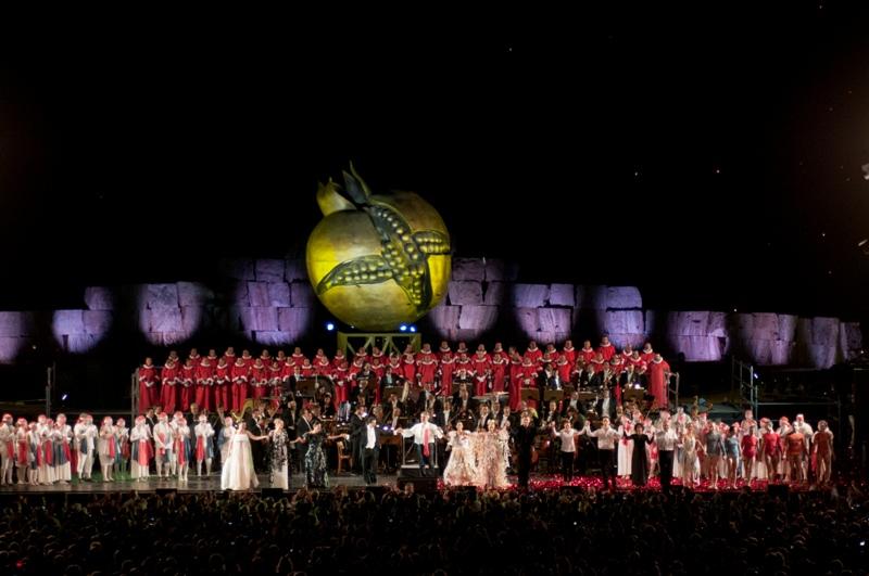 Germinazione Melagrana Teatro del Silenzio di Andrea Bocelli