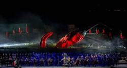 Giuseppe Carta_The Red Giant_ Il grande peperoncino rosso al Teatro del Silenzio di Andrea Bocelli_a