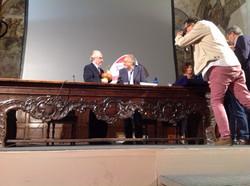 con Gualtiero Marchesi.