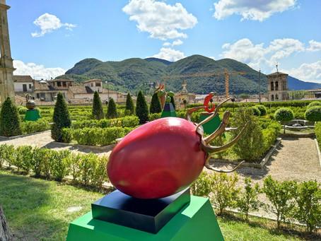 Le Germinazioni di Giuseppe Carta alla Fiera Mondiale del Peperoncino di Rieti