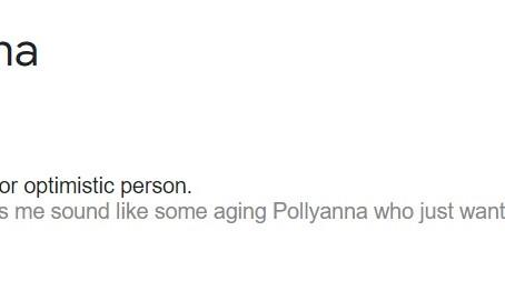 Episode #19 - Real Pollyanna Type