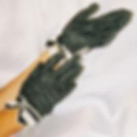 Шёлковые перчатки от дизайнера Ольги Сел