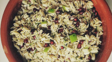 Oozing with flavour Orzo salad