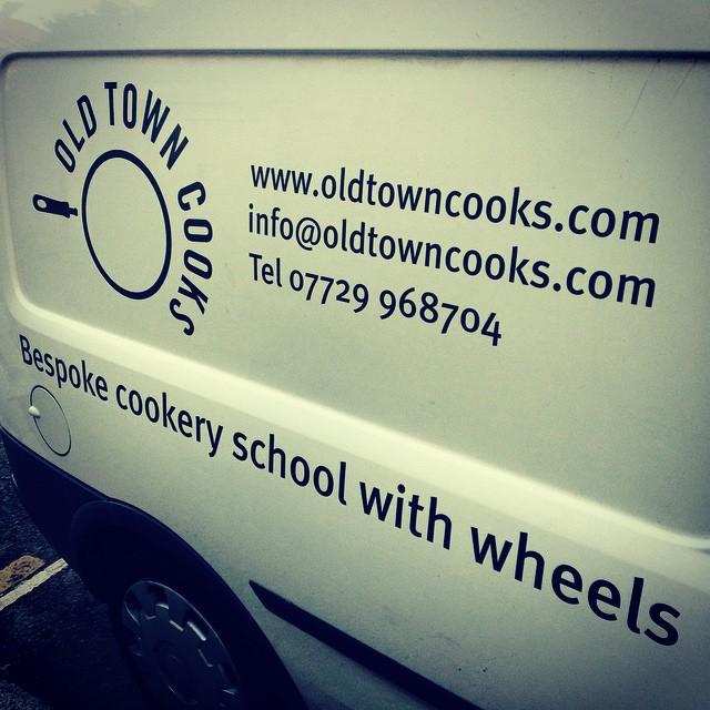 Instagram - Bespoke cookery school needs a bespoke van! #oldtowncooks #foodblogg