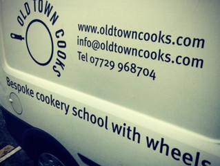 Bespoke van for a Bespoke cookery school