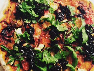 Pizza, perfect for a wet summers evening!!