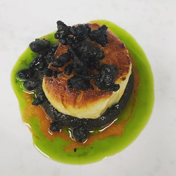 One of my favourites this year! Scallop,