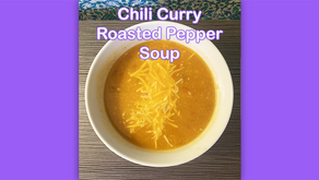 Chili Curry Roasted Pepper Soup