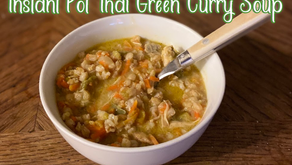 $15 Instant Pot Thai Green Curry Chicken Soup