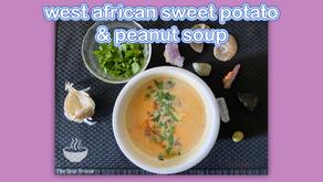 West African Sweet Potato & Peanut Soup
