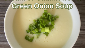 Cream of Cauliflower & Green Onion Soup