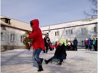 Народные гулянья «Зимние забавы»