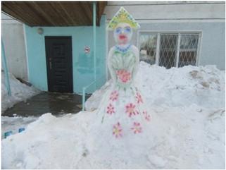 Снежная выставка «Самый лучший снеговик»