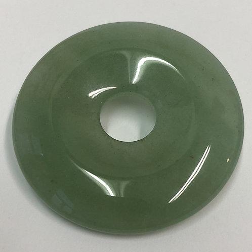 Aventurijn groen donut green