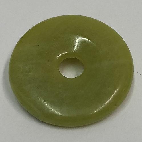 donut steen serpentijn groen