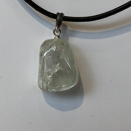 hiddeniet steen wit hanger
