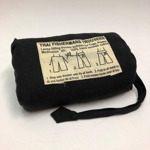 Fisherman's Trouser XL Zwart