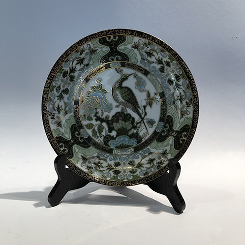 groen imari Japan porselein bord