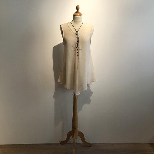 blouse katoen wit ecru