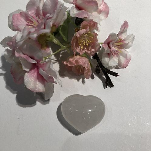 hart hartje berg kristal wit steen