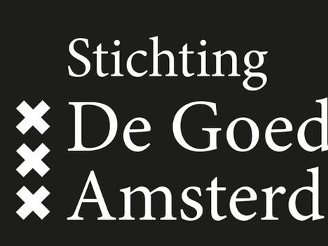 Stichting 'De Goede Zaak Amsterdam' is een feit