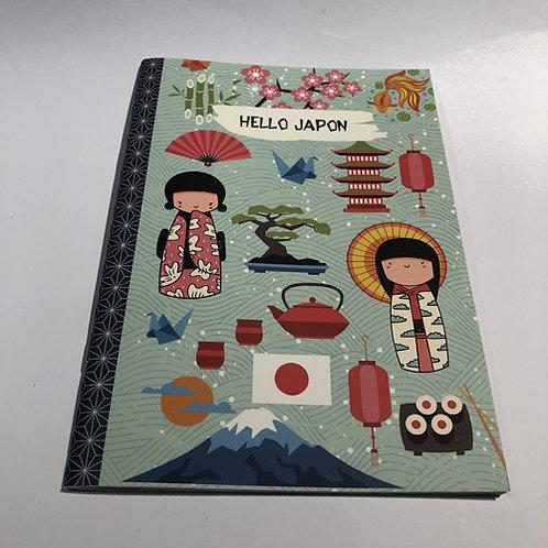 Notitie Boekje Hello Japan schrift