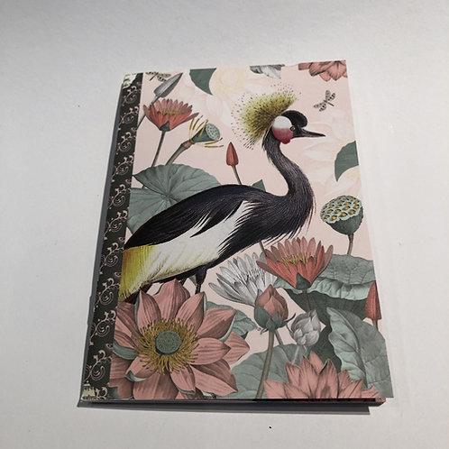 notitie boekje schrift hert kraanvogel