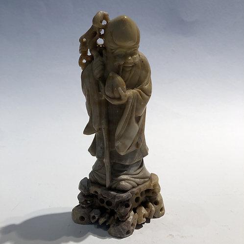 Lao-tse  handgemaakt in China. 16x6cm
