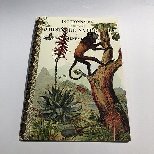 Notitie Boekje Afrikaanse dieren schrift