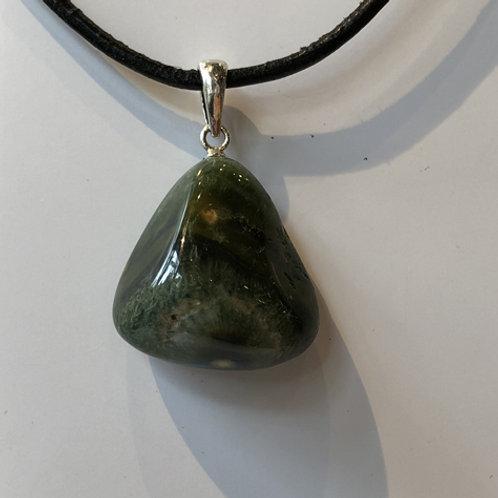 Jaspis Oceaan zee hanger groen steen