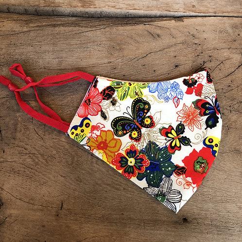 Mooie mondkapjes met verschillende Japanse kimono prints