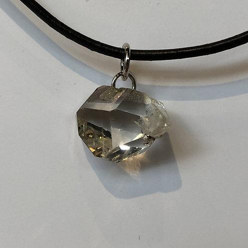 Herkimer diamant steen hanger wit