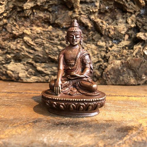 Akshobhya Boeddha Buddha brons nepal