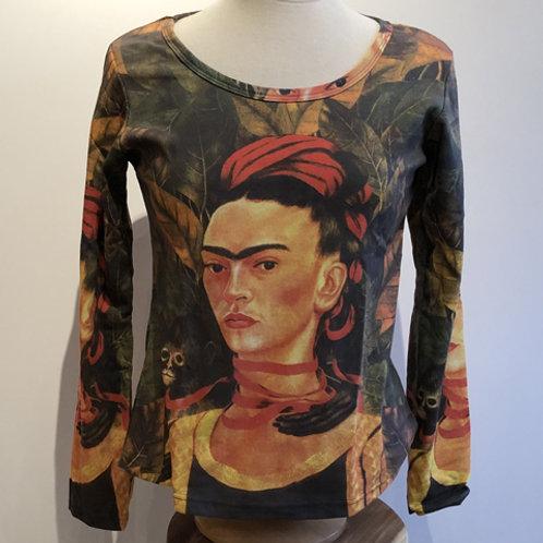 "T-Shirt Lange mouw ""Frida Kahlo """