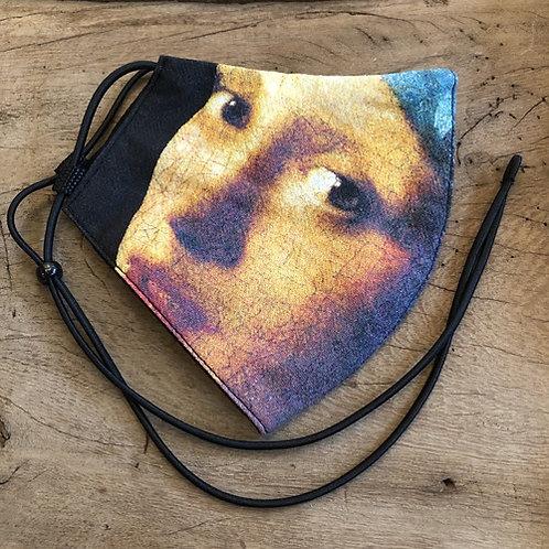 """Mondkapje """"Meisje met de Parel """"Vermeer"""