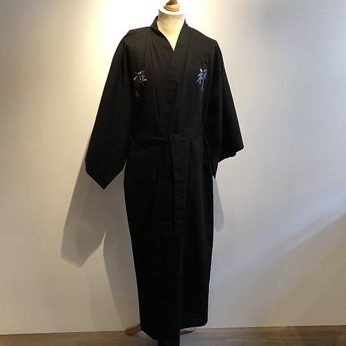 Traditionele Japanse heren yukata linnen met katoen zen