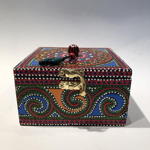 sieraden doos kist beschilderd thailand