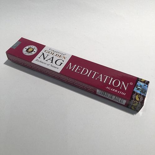 Meditation  Een van onze best verkopende wierookstokjes. nag chandan