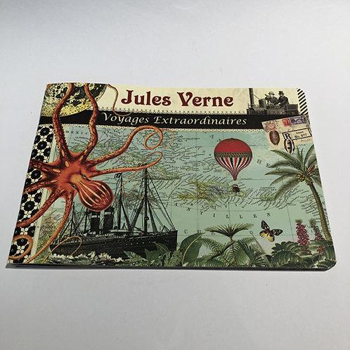 Notitie Boekje Jules Verne