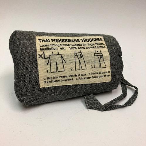 Fisherman's Trouser XL Grijs broek yoga