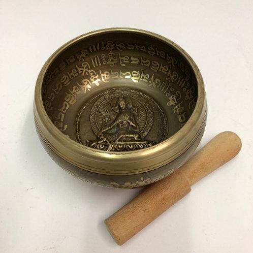 klankschaal brons nepal tibet singing bowl zingende kom