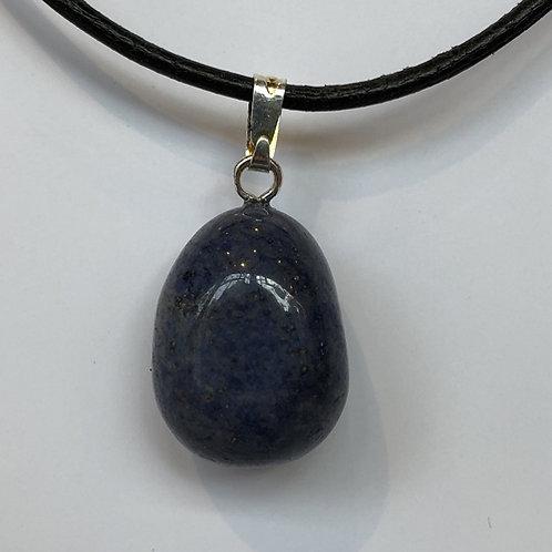Dumortieriet hanger steen blauw