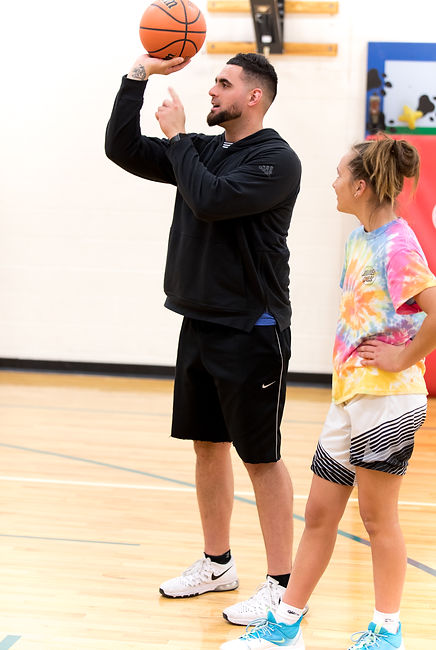 mychal martinez denver basketball trainer