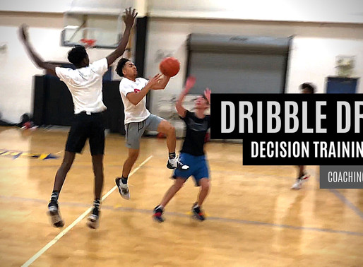 Dribble Drive Decision-Training Drill