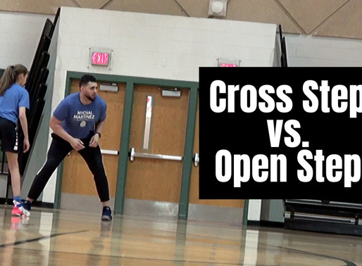 3 Reasons Why I Teach Cross Step Footwork When Attacking Tight Closeouts
