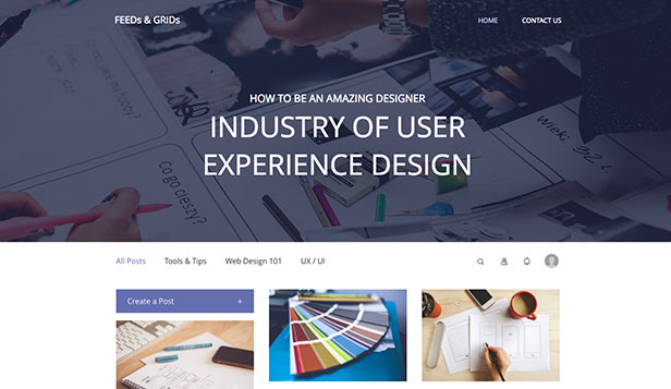 Designer website templates – Professional Designers Blog