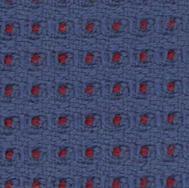 Honeycomb - Blue w/ Red Dot
