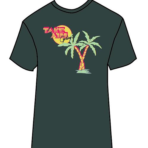 Men's Palm Tree Emerald Green