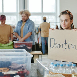 Charity Day: Donate and Volunteer